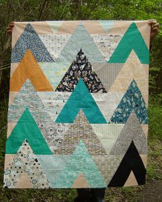 Triangle Quilt Along Quilt Top | Flickr - Photo Sharing!