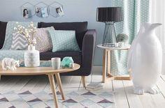 estilo escandinavo sofa gris oscuro - Buscar con Google