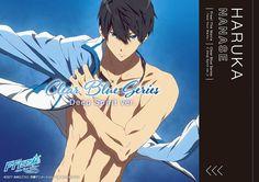Haruka Nanase Tags Free! Take your marks, Free! #anime #officialart #swim