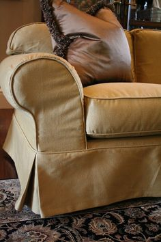 Custom Slipcovers by Shelley: Two Couches