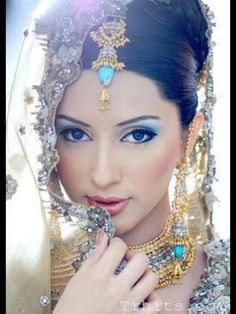 Pakistani/Indian Bridal Look FLAWLESS!