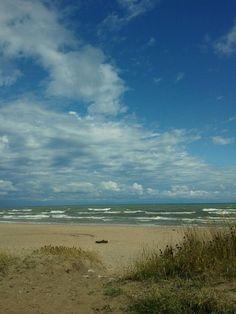 Two of my favorite places Beaches of Lake Michigan & Sheboygan, WI