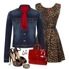 """Denim Dressed Up"" by tdfediuk on Polyvore"