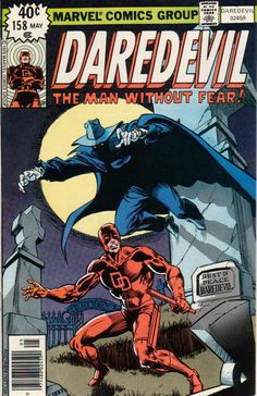 Daredevil #158 (1964 series) - cover by Frank Miller