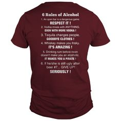 6 RULES OF ALCOHOL S #gift #ideas #Popular #Everything #Videos #Shop #Animals #pets #Architecture #Art #Cars #motorcycles #Celebrities #DIY #crafts #Design #Education #Entertainment #Food #drink #Gardening #Geek #Hair #beauty #Health #fitness #History #Holidays #events #Home decor #Humor #Illustrations #posters #Kids #parenting #Men #Outdoors #Photography #Products #Quotes #Science #nature #Sports #Tattoos #Technology #Travel #Weddings #Women