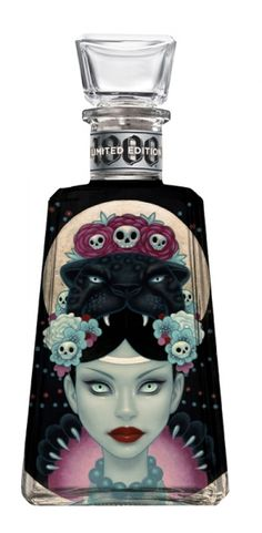 Tara McPherson | ART Illustrations Painted 1800 Tequila