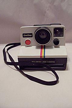 Polaroid OneStep Instant Land Film Camera