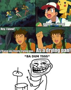 Funniest moment ever! Also best line by the only and only Brock #brock #funny #pokemon
