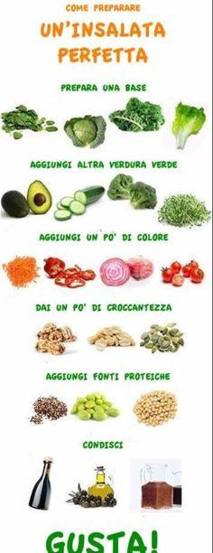 Un' #insalata perfetta