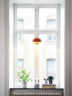 Via My Scandinavian Home | White | Panton Flowerpot Light