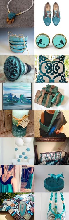 turquoise gifts by Ivana Kristina on Etsy--Pinned with TreasuryPin.com