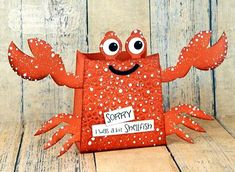 Shellfish Gift Bag by Jeanne Streiff #GiftGiving, #Sorry, #SummerFun…