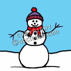Winter Theme - Snowman- abcteach