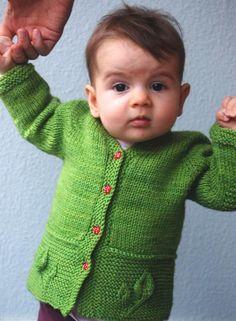 (6) Name: 'Knitting : Petites Feuilles Cardigan