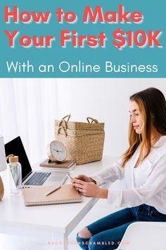 Make $10,000 online running a service business from home. Learn what you need to start, types of services to offer, how to get testimonials and find your first client in 12 weeks or less. Take a shortcut and learn from my experience. #workfromhome #startabusiness #makemoneyonline #findclients Entrepreneur Ideas, Entrepreneur Motivation, Business Entrepreneur, Home Based Business, Business Ideas, Online Business, Way To Make Money, Make Money Online, Work From Home Tips
