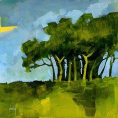 Verdent copse by Paul Steven Bailey
