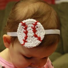 Matt would love these for Skyla!! just have find a basketball one baby girl baseball headband