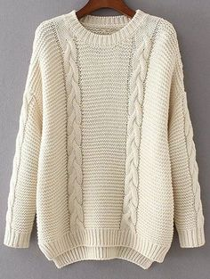 GET $50 NOW | Join Zaful: Get YOUR $50 NOW!http://m.zaful.com/high-low-cable-knit-jumper-sweater-p_253205.html?seid=1805886zf253205
