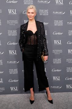 Karlie Kloss attends the 2017 WSJ Magazine Innovator Awards at Museum of Modern Art on November 1 2017 in New York City