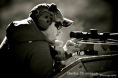 Another member of SoCal Precision Rifle, working at his craft. (Crossbow, photo credit Dustin Thompson Photography)