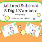 This lesson follows my lesson on adding / subtracting 2 digit numbers using the number grid (no regrouping).  In this lesson, the students will...