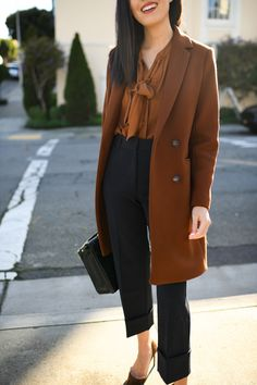 Chestnut - business professional outfits on a budget Business Professional Outfits, Business Outfits Women, Office Outfits Women, Professional Wardrobe, Summer Work Outfits, Mode Outfits, Chic Outfits, Fashion Outfits, Business Attire