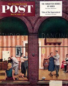 1952 Stevan Dohanos art | #RetroReveries