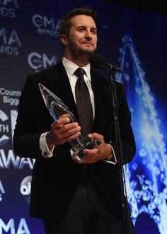 Luke Bryan Photos: 48th Annual CMA Awards - Press Room ❤️