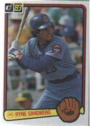 1983 Donruss #277 Ryne Sandberg RC by Donruss. $7.90. 1983 Donruss Inc. trading card in near mint/mint condition, authenticated by Seller