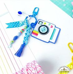 52 Reasons, How To Make Tassels, Cute Charms, Mini Albums, Super Cute, Crafty, Design, Extended Play