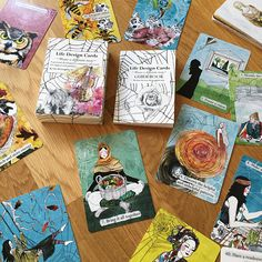 Fortune Cards, Fortune Telling Cards, Oracle Tarot, Oracle Deck, Divination Cards, Card Weaving, Art Prompts, Tarot Card Decks, Life Design