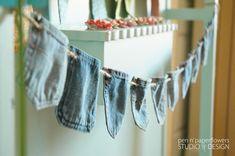 DIY Denim Pocket Banner