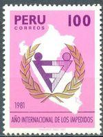 SELLOS de PERU - 1981.