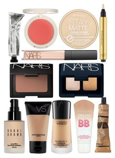 """""""MakeUp"""" by eljanecalder ❤ liked on Polyvore featuring beauty, Maybelline, Bobbi Brown Cosmetics, Aesop, NARS Cosmetics, Topshop, Rimmel and Yves Saint Laurent"""