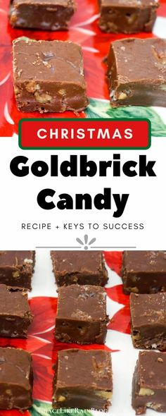 Goldbrick Candy is a rich and creamy fudge that is on our Christmas Candy table every single year. This Gold Brick Candy recipe has been handed down for generations and it never fails. This is the best fudge you will ever eat! | Gold Brick Candy | Gold Brick Fudge | Best Fudge Recipes | Christmas Fudge | Christmas Candy Recipes | #Fudge #Recipes #ChristmasCandy #Christmas #Candy Easy Christmas Candy Recipes, Christmas Candy Gifts, Christmas Fudge, Peanut Butter Cup Cookies, Butter Chocolate Chip Cookies, Chocolate Treats, Best Fudge Recipe, Fudge Recipes, Honey Glazed Carrots