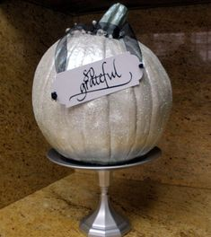 As I try to promote my new business, a friend suggested I come to her Holiday Boutique. I could hand out brochures and business cards. But I figured I should have a little something to sell,… Outdoor Chandelier, Rustic Chandelier, Glitter Pumpkins, Fall Pumpkins, Christmas Pumpkins, Glitter Wine Glasses, Pedestal Stand, Holiday Boutique, Fall Door Decorations