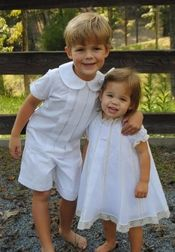 Uhh little angels! Heirloom Ring Bearer Occasion Ivory Shorts Outfit by La Jenns