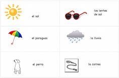 Printable Spanish Cards – Simple Associations
