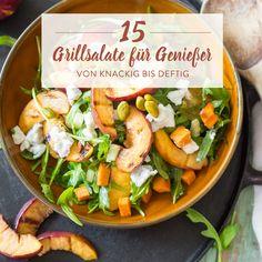 Deftig, fruchtig, knackig - kein BBQ ohne Grillsalate! Darum gibt es hier für dich 15 köstliche Kandidaten, die du diesen Sommer unbedingt testen musst.