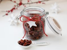 Brente mandler Christmas Snacks, Christmas Baking, Hors D'oeuvres, Appetizers, Xmas, Vegetables, Recipes, Gifts, Wrapping