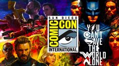 San Diego Comic Con 2017 - All DC Marvel & more trailers