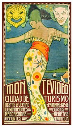 Montevideo 1915 Carnaval.