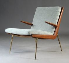 mid-century chair.