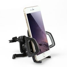 Baseus  360 Degree Rotating Flexible Car Air Vent Phone Holder Bracket Mount for iPhone Samsung GPS  Worldwide delivery. Original best quality product for 70% of it's real price. Hurry up, buying it is extra profitable, because we have good production sources. 1 day products dispatch from...