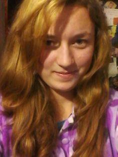 Blond hair;)