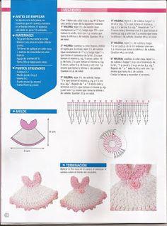 Verónica J.Correa - Moda y Creaciones: Recuerditos para baby shower o bautizo Diy Crochet, Crochet Dolls, Crochet Baby, Baby Doll Accessories, Crochet Accessories, Crochet Jewelry Patterns, Crochet Barbie Clothes, Crochet Angels, Crochet Keychain