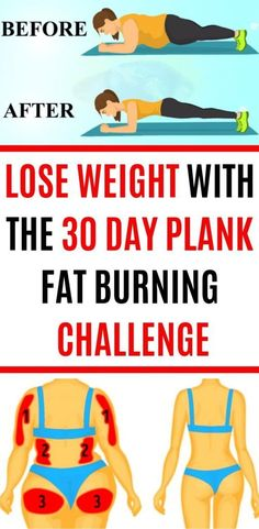 Lose Weight with the 30 Day Plank Fat Burning Challenge - Yoga fitness - Quick Weight Loss Tips, Weight Loss Help, Weight Loss Challenge, Weight Loss Plans, Weight Loss Program, Weight Loss Transformation, How To Lose Weight Fast, Weight Gain, Losing Weight