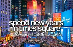 Spend New Years Eve in New York City!