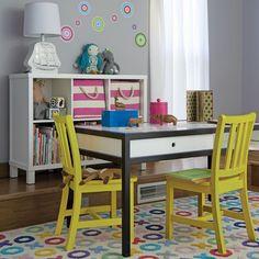 Adjustable Hi-Fi Play Table (White/Black) | The Land of Nod
