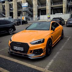 Rate This Orange Audi 1 to 100 : Rate This Orange Audi 1 to 100 New Audi Car, Audi Cars, Audi 100, Super Sport Cars, Super Cars, Volkswagen, Black Audi, Ferrari, Used Audi